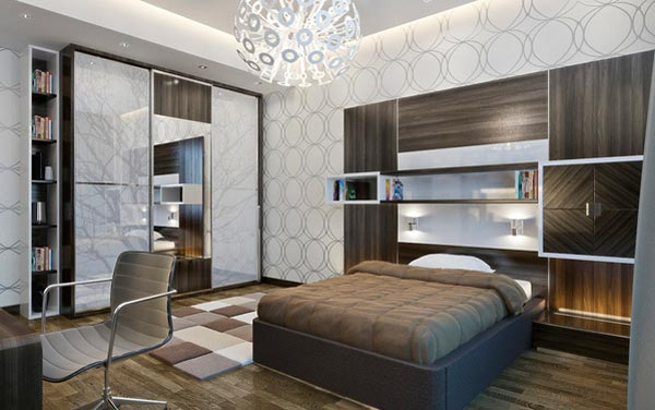 Elegant Teen Bedroom Design