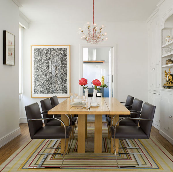 Elegantly Designed Modern Dining Room