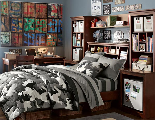 Playful Teen Bedroom Design