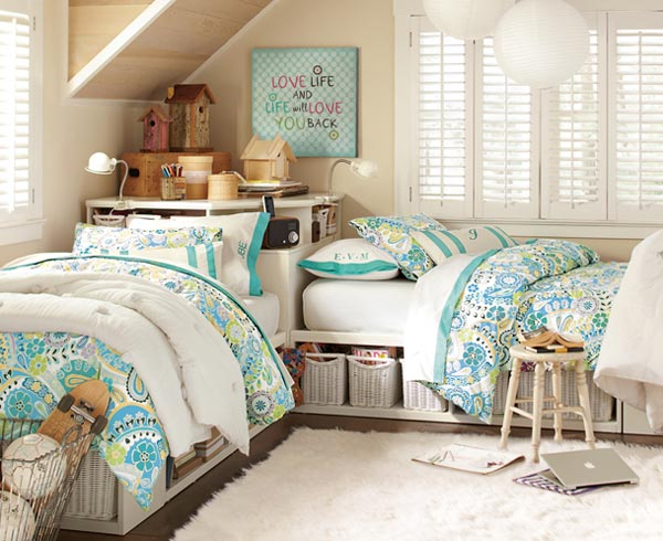 Preppy Teen Bedroom Design