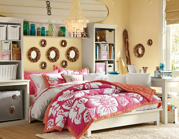 Girly Teen Bedroom Design