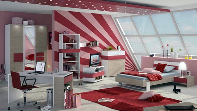 15 Cool and Well Expressed Teen Bedroom Collection   Home Design Lover. Teen Bedrooms. Home Design Ideas