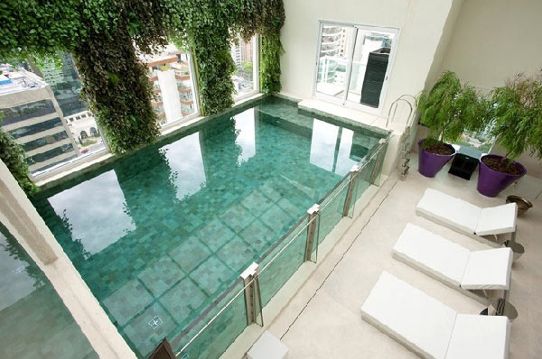 So Elegant Indoor Pool Design