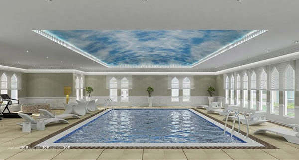 Extraordinary Indoor Pool Design