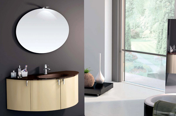Warm Modern Bathroom Design : Style triumphs with the branchetti bathroom collection