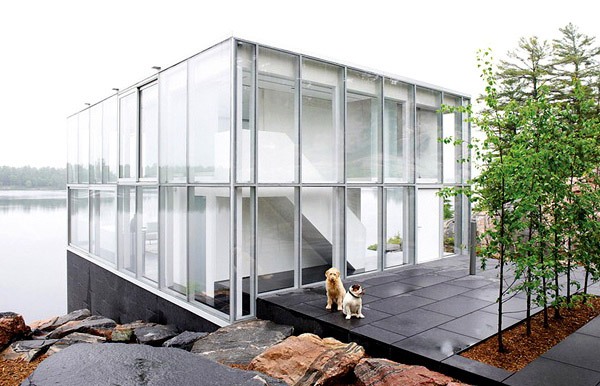 Glass House Exterior 1