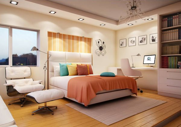 Simple bedroom for nice girls interior home design home decorating - Nice girls rooms ...