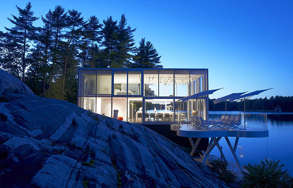 Glass House Exterior 2