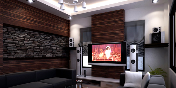 Place right furniture sizes  How to Set-Up a Fun Filled Entertainment Room 5 right 20furniture