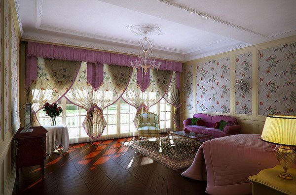 Classic Girl's Bedroom Design