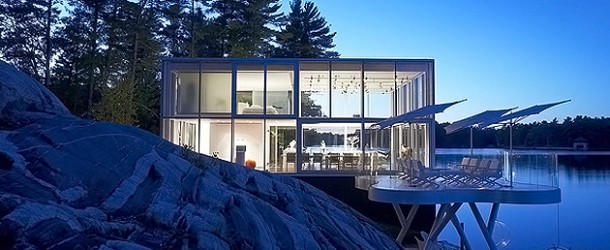 The Extraordinary Glass House in Lakefield Ontario