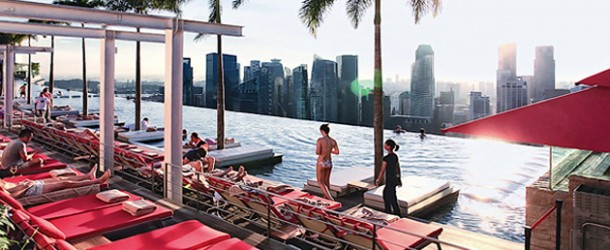 The Marina Bay Sands Sky Park Infinity Pool that Awed the World