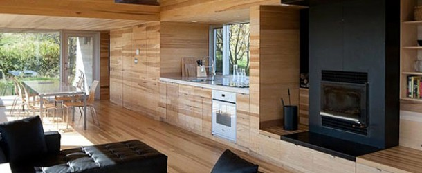 sliding house in nova scotia, canada