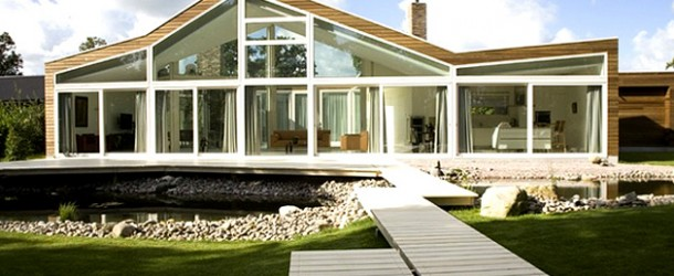 Villa Burgh-Haamstede: The Transparent Villa in Netherlands