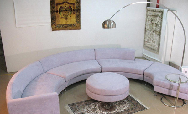 Huge and Unique Living Room Couch