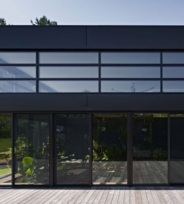 contemporary glass windows