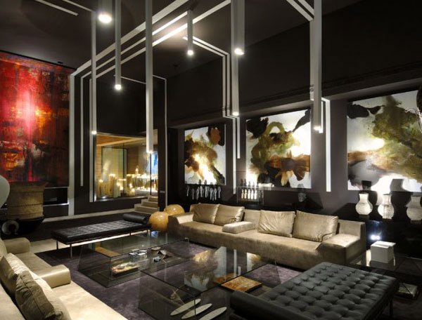 Romantic Vivienda 4 House in Madrid   Home Design Lover