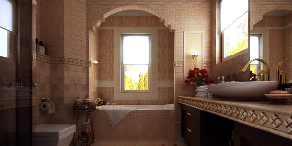 How to Decorate a Large Bathroom for Better Function and Style ...