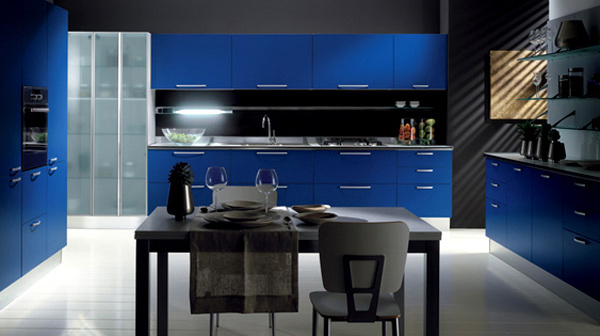 gloss lacquered doors