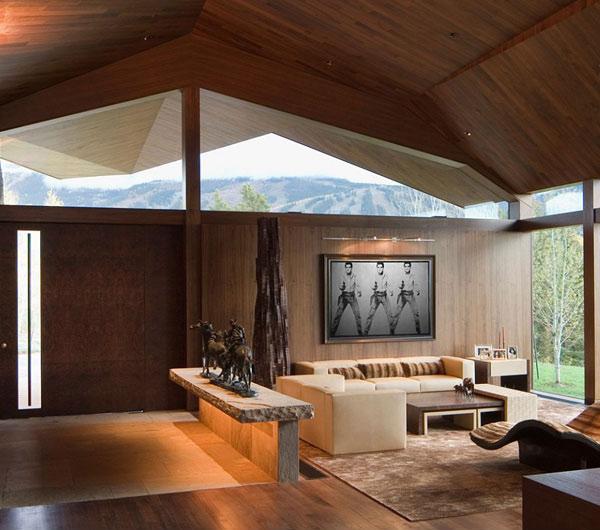 Wildcat Ridge Residence Living Room 1