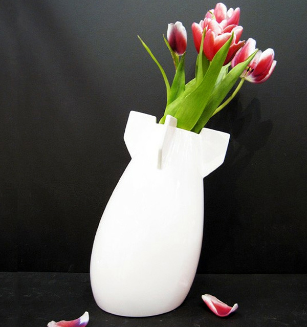 Peaceful Bomb Vase
