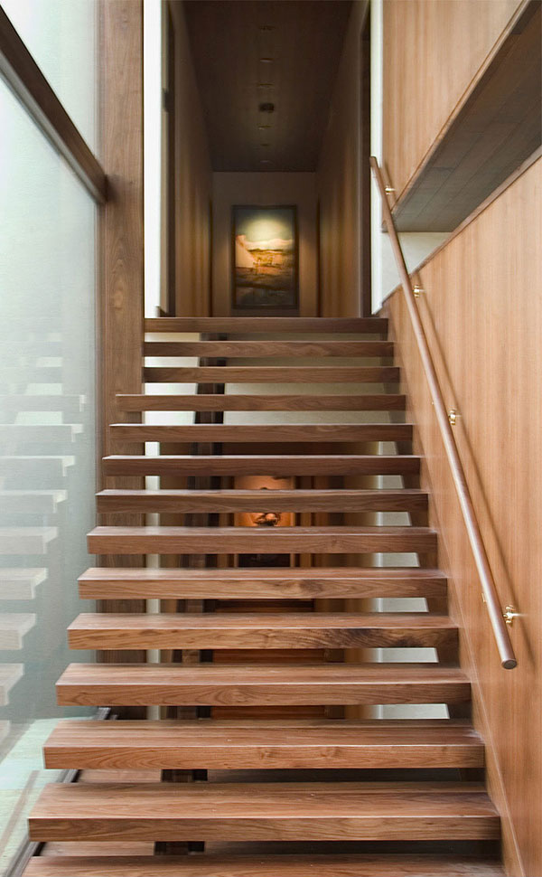 Wildcat Ridge Residence Stairs