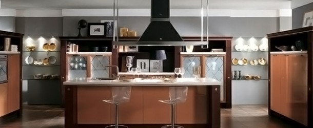 Trendy Kitchen Designs from Italy's Scavolini