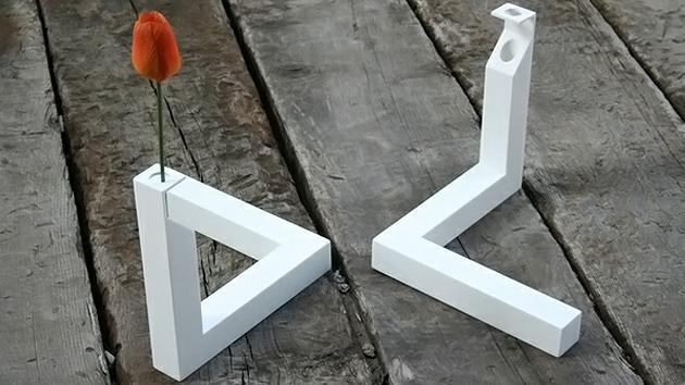 unique white vases decoration