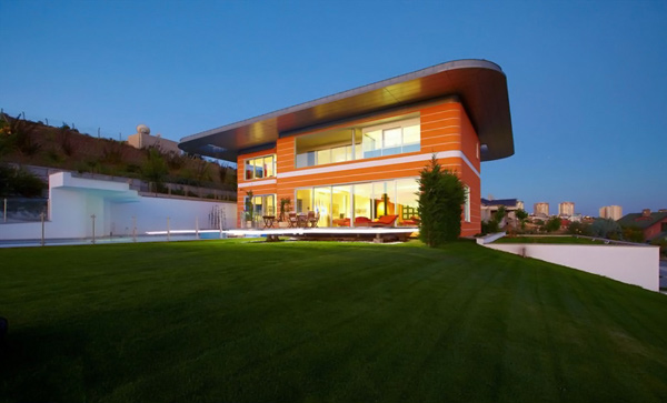 Orange House design