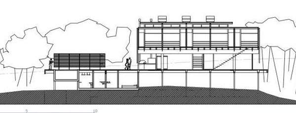 Iporanga House Sketch Plan