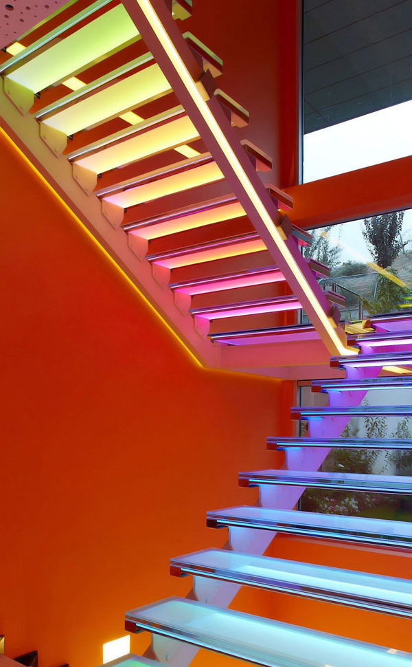 Orange House Stairs 2