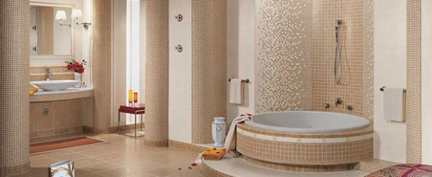 Elegant Vanity Sets and Bathrooms from Versace Home Tiles by Gardenia Orchidea