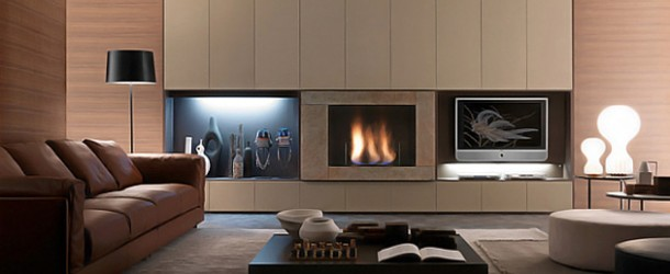 Presotto Italia's Wall Units and Bookcases with Style and Functionality