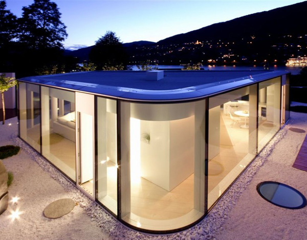 Lake Lugano House Front