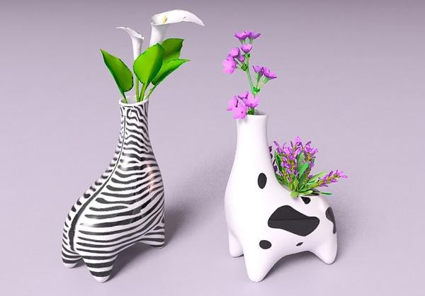 Animal Flower Vase