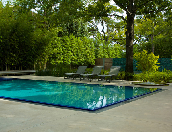 Garden with pool home design elements for Pool garden house