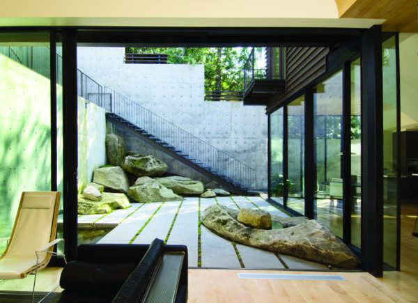 Courtyard House Exterior 3