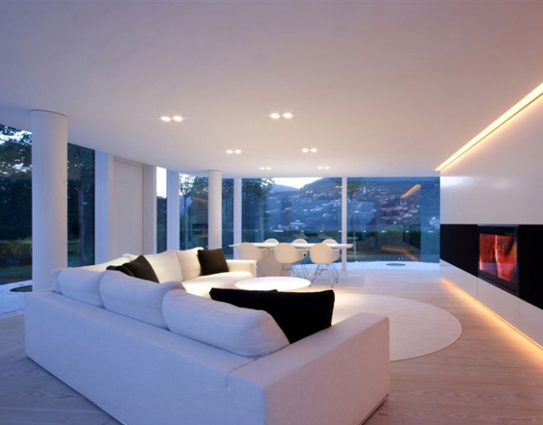 Lake Lugano House Living Room