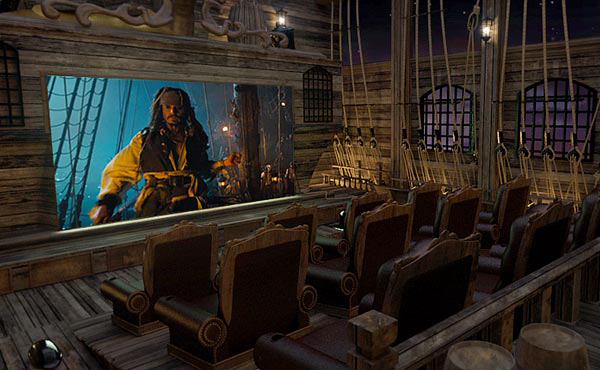Pirates Home Theater