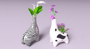 10 Animal Inspired Vases from Creative Designers