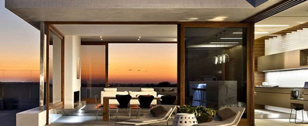 The Modern Chic Harborview Hills Residence in Newport Beach, California