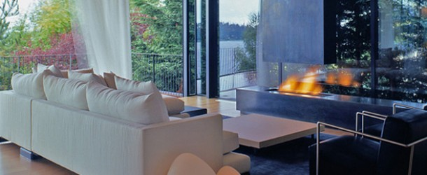 The Astounding Courtyard House in Mercer Island, Washington