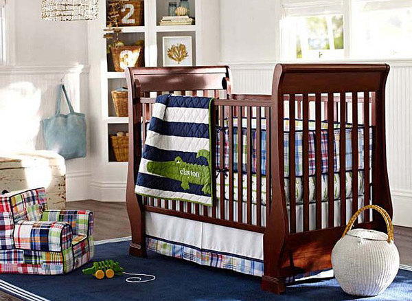 Alligator Baby Boy Nursery