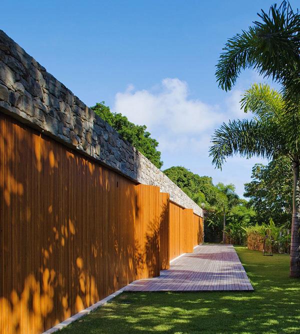 Bahia House Entrance