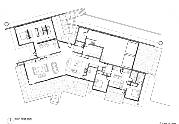 River Bank House Sketch Plan