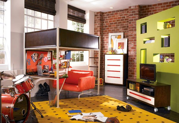 Nick Studio Loft Bed
