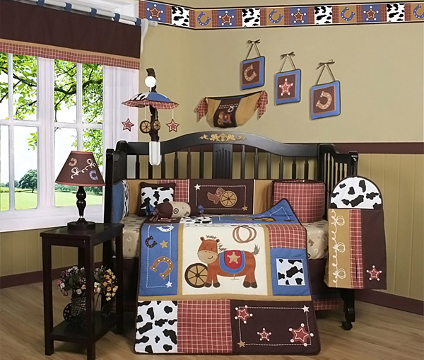 Cowboy Crib Bedding Shopping