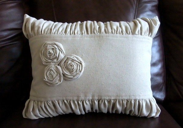Fabric Muslin Pillows