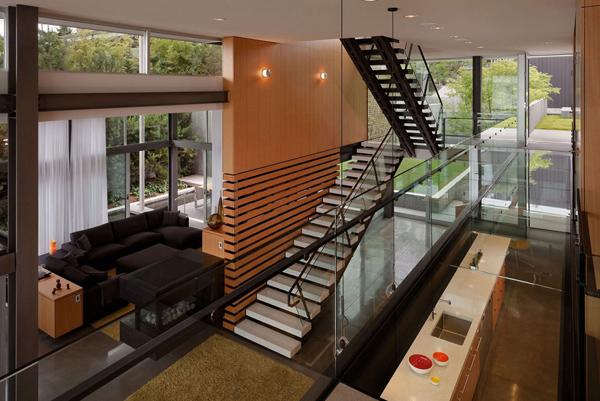 Graham Residence Living Room