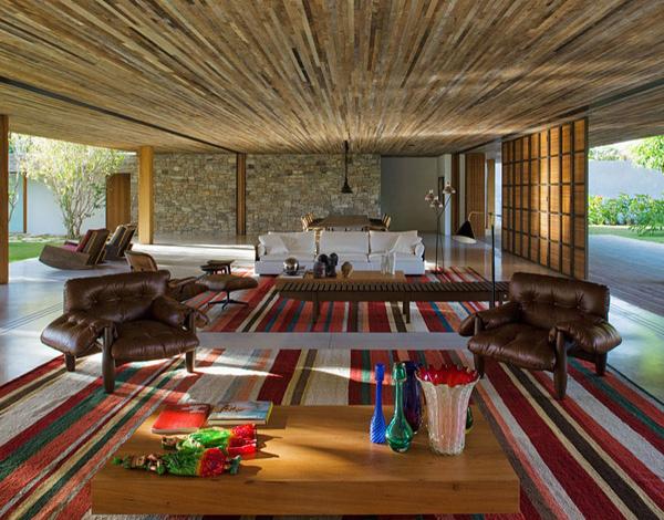 Bahia House Living Area